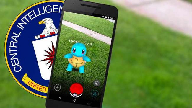 Pokémon Go bị tố cáo là phần mềm gián điệp của CIA
