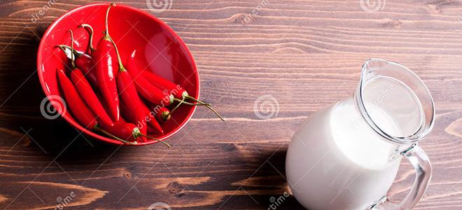 Tại sao uống sữa có thể làm miệng ăn ớt bớt cay?