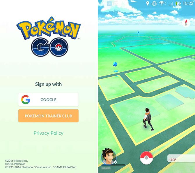 Đã chơi được Pokemon Go trên Asus ZenFone