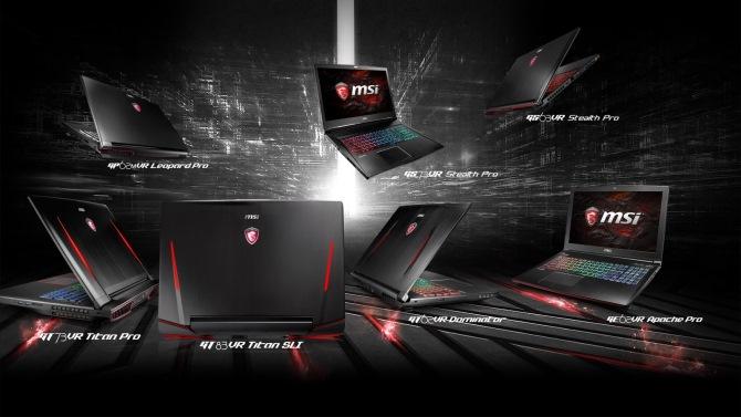 """MSI tung 11 laptop gaming """"VR Ready"""" với GPU NVIDIA mới nhất"""