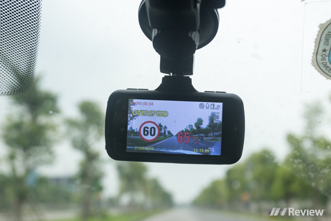 Đánh giá camera hành trình Webvision S8