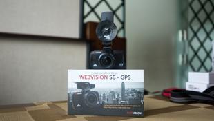 Đánh giá camera hành trình Webvision S8: quay tốt, nhiều tính năng