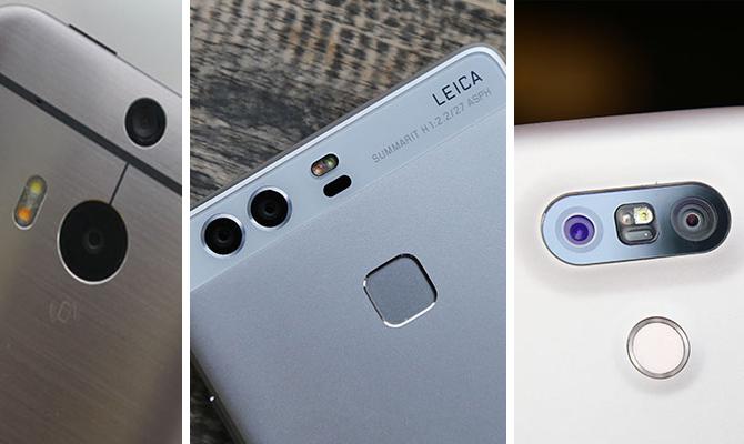 Những smartphone sở hữu cụm camera kép độc đáo