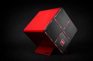 HP ra mắt máy tính chơi game Omen X hình khối độc đáo