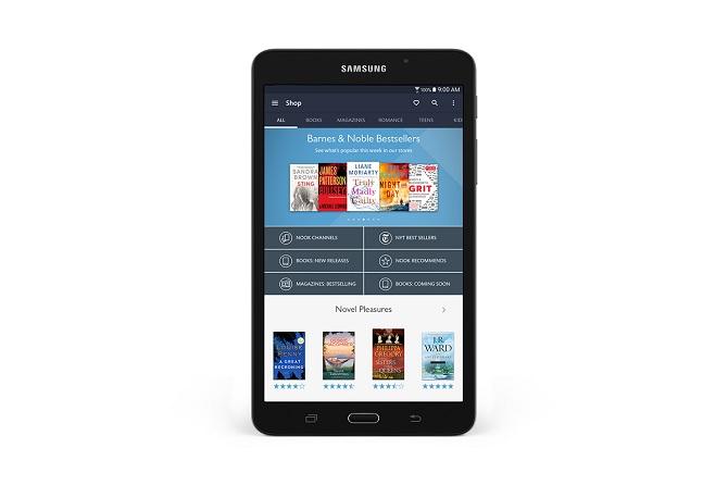 Barnes & Noble ra mắt máy đọc sách NOOK dựa trên nguyên mẫu Galaxy Tab A