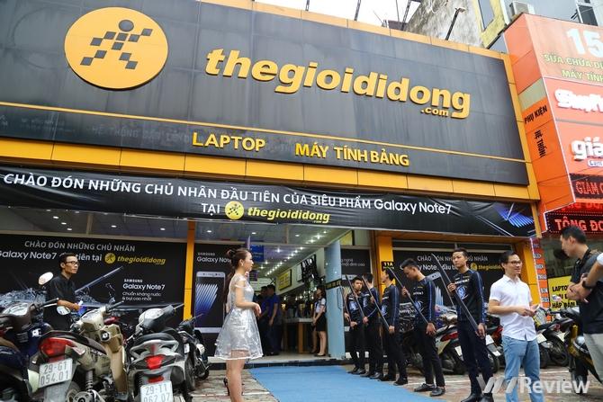 Galaxy Note 7 mở bán tại Việt Nam