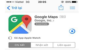 Người dùng iOS Việt Nam đã có thể tải Google Maps trên App Store