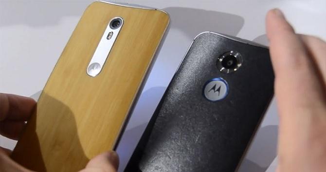 Điện thoại của Motorola được cập nhật nhanh nhất