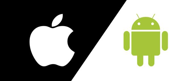 Trận chiến giữa iOS và Android đi theo lối mòn Windows - Mac