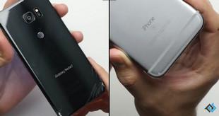 Galaxy Note 7 bền hơn iPhone 6s trong thử nghiệm thả rơi