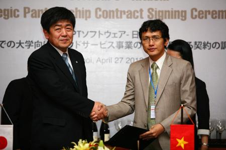 Hitachi chuyển giao phần mềm quản lý đại học vào Việt Nam