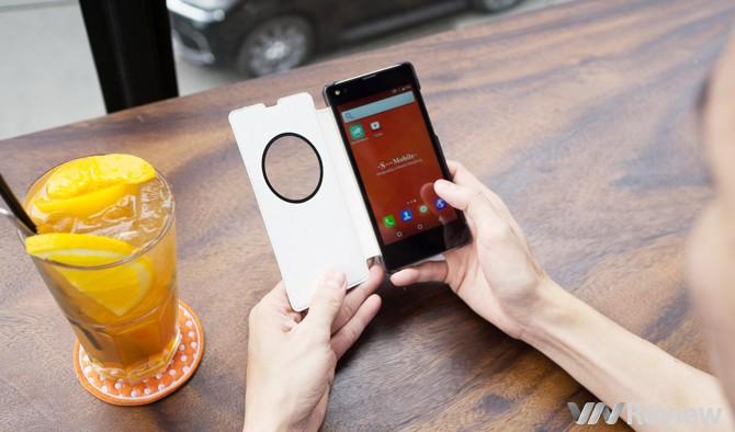 Trên tay smartphone giá dưới 2 triệu đồng S-Mobile S