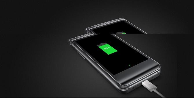 Lộ diện chiếc điện thoại nắp gập Samsung
