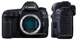Canon EOS 5D Mark IV lộ diện đầy đủ trước giờ G