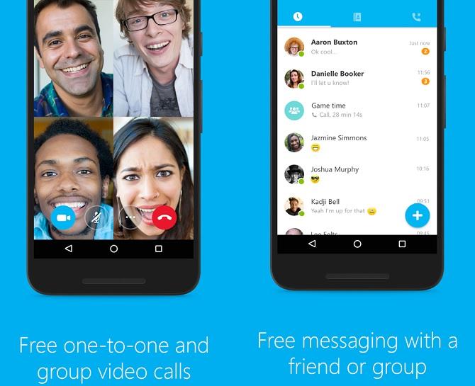 Bing, Skype (Android) được cập nhật nhiều tính năng mới