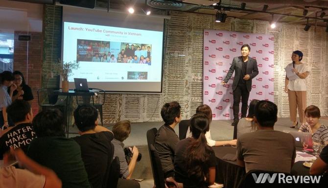 YouTube giới thiệu trang cộng đồng người sáng tạo bằng tiếng Việt