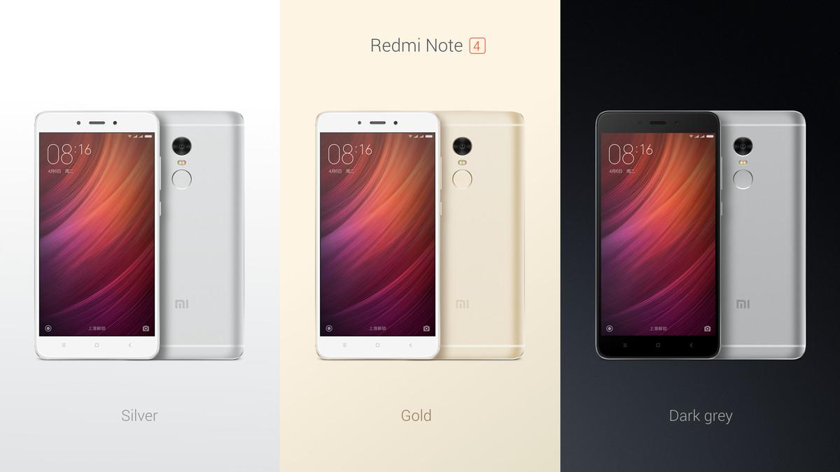 Xiaomi Redmi Note 4 chính thức: chip Helio X20, pin 4100 mAh, giá 135 USD
