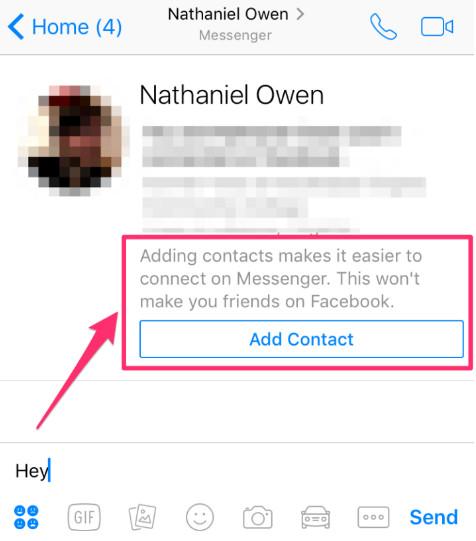 Facebook Messenger thử nghiệm tính năng trò chuyện không cần kết bạn