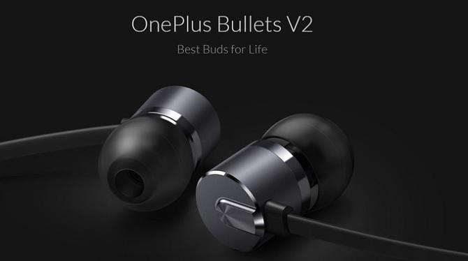 OnePlus trình làng tai nghe Bullets V2, giá 19,95 USD