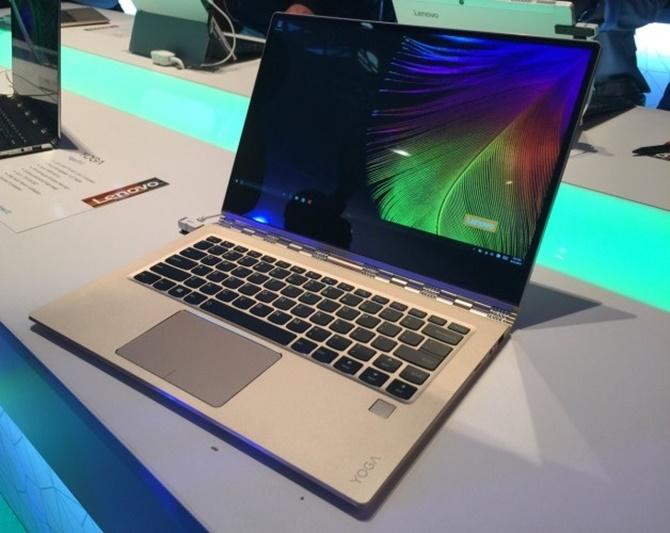 IFA 2016: Lenovo trình làng laptop Lenovo Yoga 910, có tùy chọn màn hình 4K