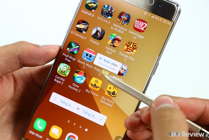7 điểm hay nhất của S-Pen trên Galaxy Note 7