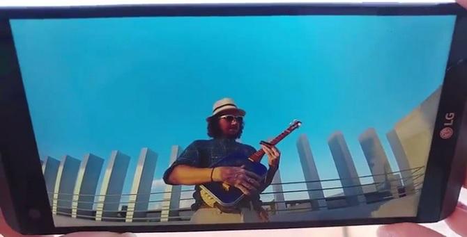 LG V20 xuất hiện chớp nhoáng trong một video quảng cáo ngắn