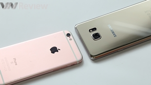 Video đọ hiệu năng Galaxy Note 7 & iPhone 6s