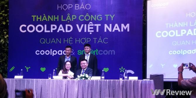 Coolpad lập công ty tại Việt Nam, mở 7 trung tâm bảo hành