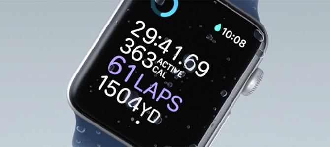 Apple Watch Series 2 chính thức: chống nước, tích hợp GPS, giá từ 369 USD