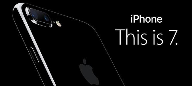 Cận cảnh iPhone 7 và iPhone 7 Plus chính thức