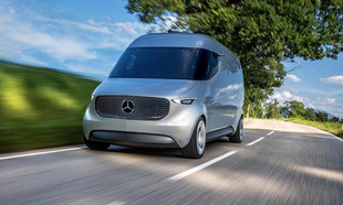 Mercedes-Benz Vision Van: xe tải thông minh của tương lai