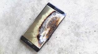 Samsung Galaxy Note 7 lại vừa phát nổ trên tay một đứa trẻ