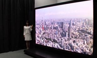TV plasma 145-inch 8k siêu nét đầu tiên