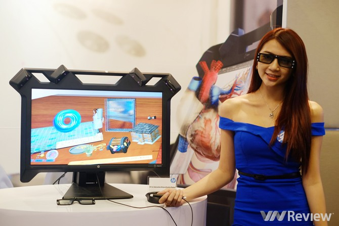HP mang loạt màn hình siêu mỏng về Việt Nam
