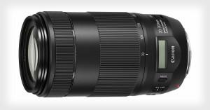 Canon ra mắt ống kính tele 70-300mm mới, có màn hình LCD