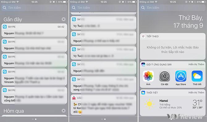 Trải nghiệm iOS 10