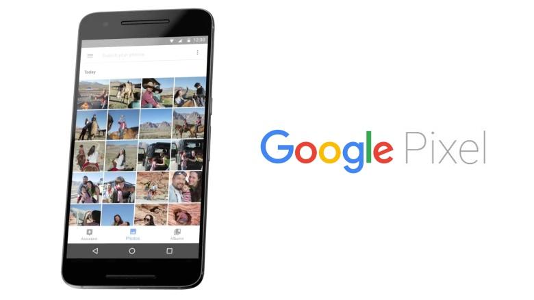Bộ đôi Google Pixel và Pixel XL lộ ảnh mặt trước