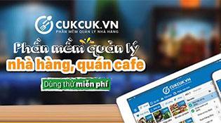 MISA cho dùng thử miễn phí phần mềm quản lý nhà hàng, quán cà phê CUKCUK.VN
