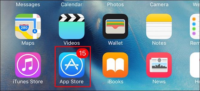 Ưu tiên thứ tự cập nhật ứng dụng trên iOS 10