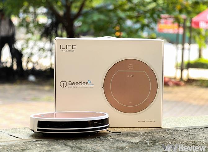 Đánh giá nhanh robot hút bụi ILife V7S, lau nhà tự động