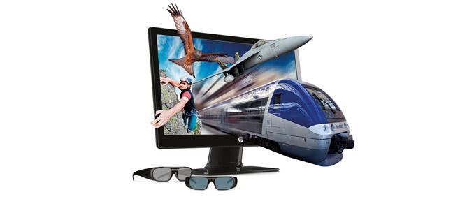 """HP 2311gt 23"""" LED Backlit 3D - màn hình 3D giá rẻ"""