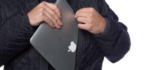 Độc đáo chiếc áo khoác có thể chứa được 2 chiếc laptop