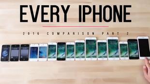 Kiểm chứng tốc độ nhanh gấp 120 lần của iPhone 7 với iPhone đời đầu