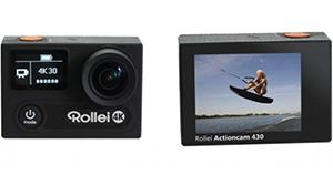 Rollei Actioncam 430: quay 4K và slow-motion Full HD