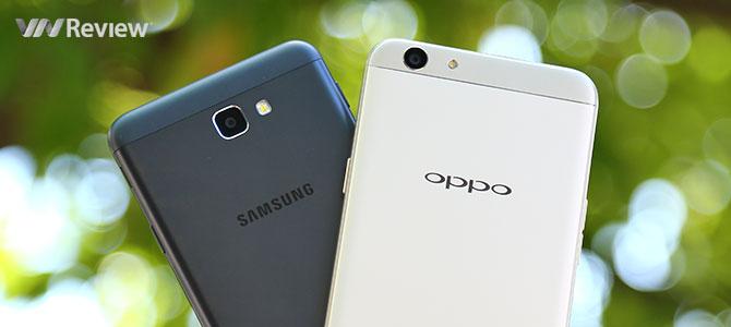 Đọ chi tiết camera Samsung Galaxy J7 Prime và Oppo F1s