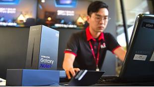 Samsung tiến hành điều tra Galaxy Note7 thay mới nhưng vẫn dính lỗi