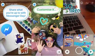 """Facebook vừa """"vay mượn"""" Stories của Snapchat để tạo ra Messenger Day"""