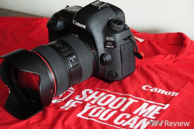 Canon EOS 5D Mark IV chính thức ra mắt tại Việt Nam