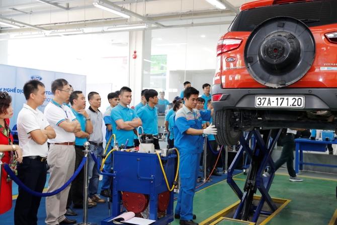 """Ford Việt Nam tổ chức """"Hội thi tay nghề dịch vụ toàn quốc"""" nhằm nâng cao chất lượng dịch vụ khách hàng"""