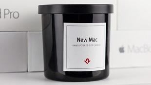 New Mac: nến thơm mùi... máy tính Mac
